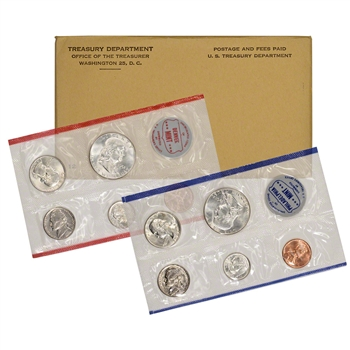 1961 US Mint Uncirculated Coin Set