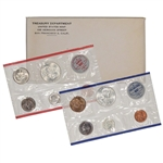 1962 US Mint Uncirculated Coin Set