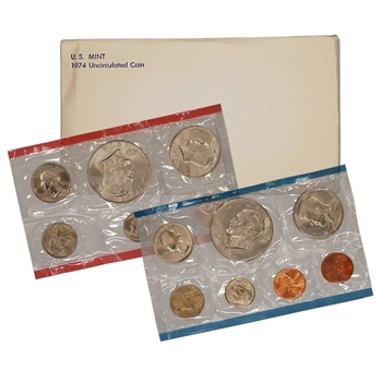 1974 US Mint Uncirculated Coin Set