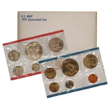 1977 US Mint Uncirculated Coin Set