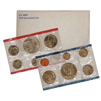 1978 US Mint Uncirculated Coin Set