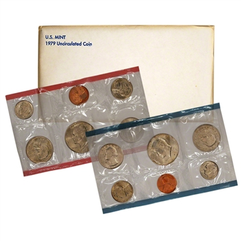 1979 US Mint Uncirculated Coin Set