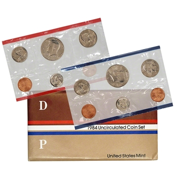 1984 US Mint Uncirculated Coin Set