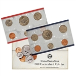 1988 United States Mint Uncirculated Coin Set (U88)