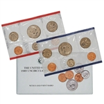 1989 United States Mint Uncirculated Coin Set (U89)