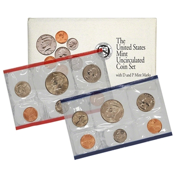 1992 United States Mint Uncirculated Coin Set (U92)