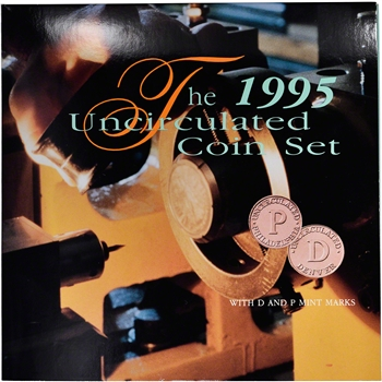1995 US Mint Uncirculated Coin Set - Special Edition