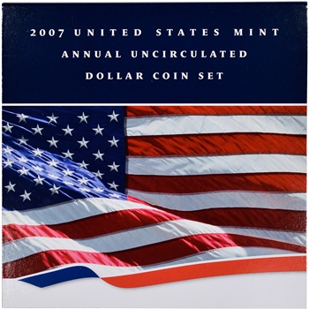 2007 US Uncirculated Dollar Coin Set