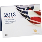 2013 United States Annual Uncirculated Dollar Coin Set (XA5)