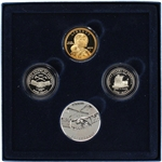 2004 US Westward Journey Nickel Series Coin and Medal Set