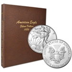 34-pc. 1986 - 2019 American Silver Eagle Complete Set - Gem BU - in Dansco Album