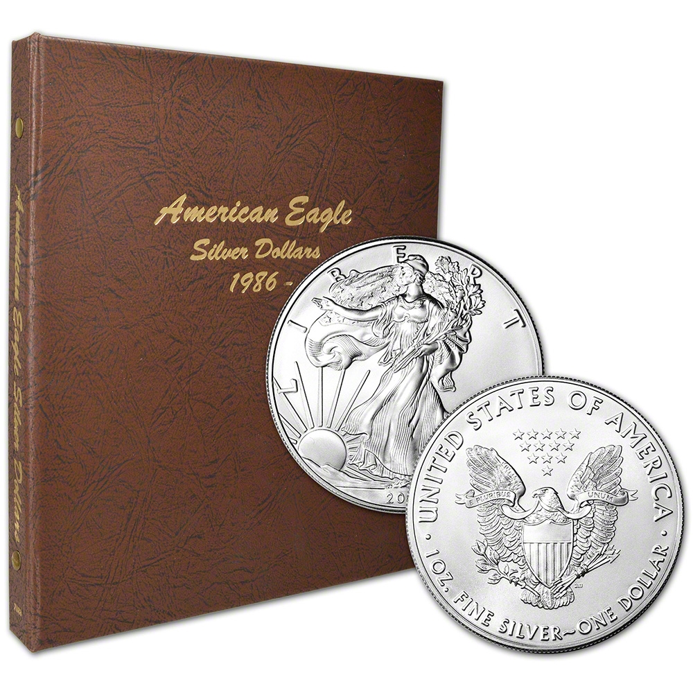 pc. 1986 - 2017 American Silver Eagle Complete Set - Gem BU - in ...