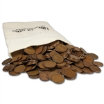 "500-pc. US Lincoln ""S"" Wheat Cents - Bag of 500 - Average Circulated"