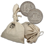 90% Silver Half Dollars - $1000 Face Value Bag - Circulated