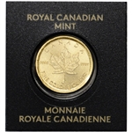 1 gram Canada Gold Maple Leaf 50C from Gold Maplegram25? 9999 Fine Random Date
