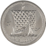 Isle of Man Platinum (1 oz)  Noble - BU - Random Date