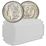 1921 US Morgan Silver Dollar - Roll of 20 coins - AU