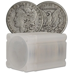 US Morgan Silver Dollar - Roll of 20 coins - VG/F - Random Date