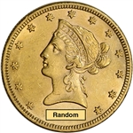 US Gold $10 Liberty Head Eagle - AU Condition - Random Date