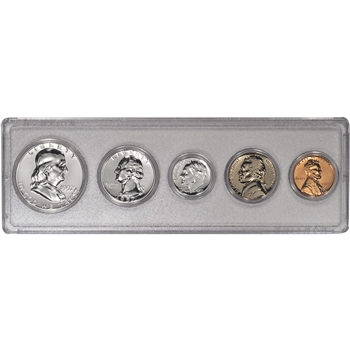 1957 'Gem' US Proof Set (LCG)