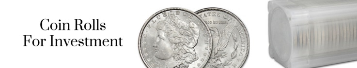 Buy Coin Rolls For Collecting & Investment