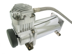 Air Lift 16380 Viair 380C Chrome Air Compressor Universal
