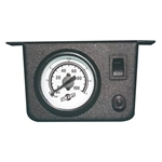 "Air Lift 26156 Single Needle Gauge with 2"" Lighted Panel Universal"