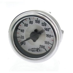 Air Lift 26227 Single Needle Air Gauge Universal