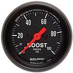 Auto Meter 2618 Z-Series 0-100 PSI Boost Gauge