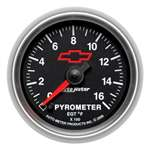 Auto Meter 3644-00406 GM Performance Parts 0-1600 °F Pyrometer Gauge