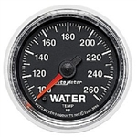 Auto Meter 3855 GS 100-260 °F Water Temperature Gauge
