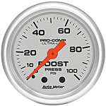 Auto Meter 4306 Ultra-Lite 100 PSI Boost Gauge