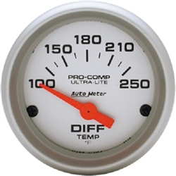 Auto Meter 4349 Ultra-Lite 100-250 °F Differential Temperature Gauge