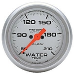 Auto Meter 4369 Ultra-Lite 60-210 °F Water Temperature Gauge