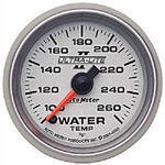 Auto Meter 4955 Ultra-Lite II 100-260 °F Water Temperature Gauge