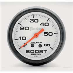 Auto Meter 5705 Phantom 0-60 PSI Boost Gauge
