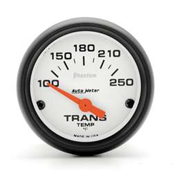 Auto Meter 5757 Phantom 100-250 °F Transmission Temperature Gauge