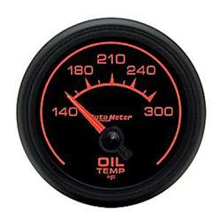 Auto Meter 5948 ES 140-300 °F Oil Temperature Gauge