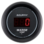 Auto Meter 6337 Z-Series 0-300 °F Water Temperature Gauge