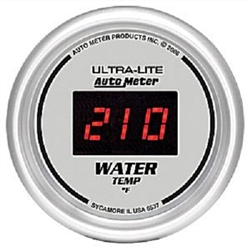 Auto Meter 6537 Ultra-Lite 0-300 °F Water Temperature Gauge