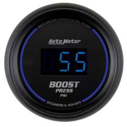 Auto Meter 6970 Cobalt 5-60 PSI Digital Boost Gauge