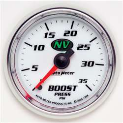 Auto Meter 7304 NV 0-35 PSI Boost Gauge