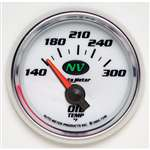 Auto Meter 7348 NV 140-300 °F Oil Temperature Gauge