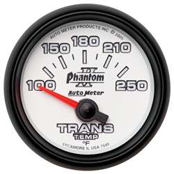 Auto Meter 7549 Phantom II 100-250 °F Transmission Temperature Gauge