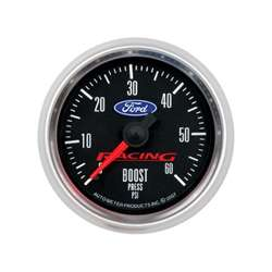 Auto Meter 880106 Ford Racing 0-60 PSI Boost Gauge