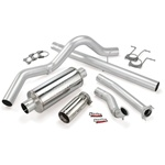 Banks Power 46299 Single Monster Exhaust System 1994-1997 Ford 7.3L Powerstroke