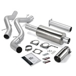 Banks Power 48628 Single Monster Exhaust System 2001-2004 GM 6.6L Duramax