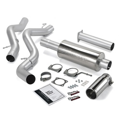 Banks Power 48633 Single Monster Exhaust System 2002-2005 GM 6.6L Duramax