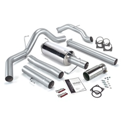 Banks Power 48708 Single Monster Exhaust System 2006-2007 Dodge 5.9L Cummins