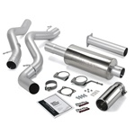 Banks Power 48940 Single Monster Exhaust System 2006-2007 GM 6.6L Duramax